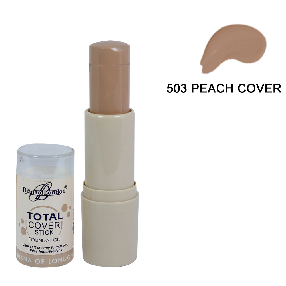 Diana of London Total Cover Stick Foundation Peach Cover