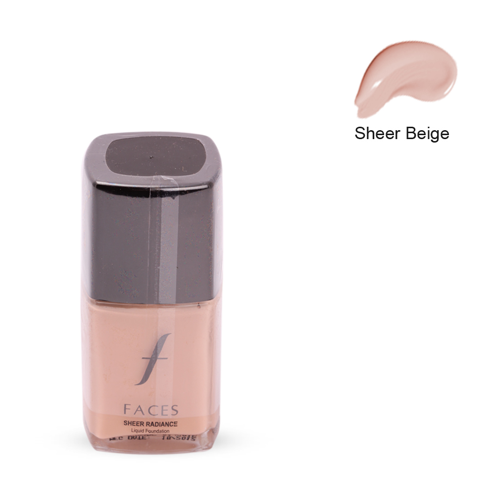 Faces Sheer Radiance Liquid Foundation Sheer Beige 03