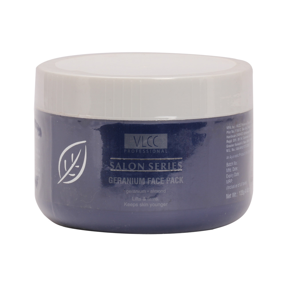 VLCC Salon Series Geranium Face Pack (125gm)