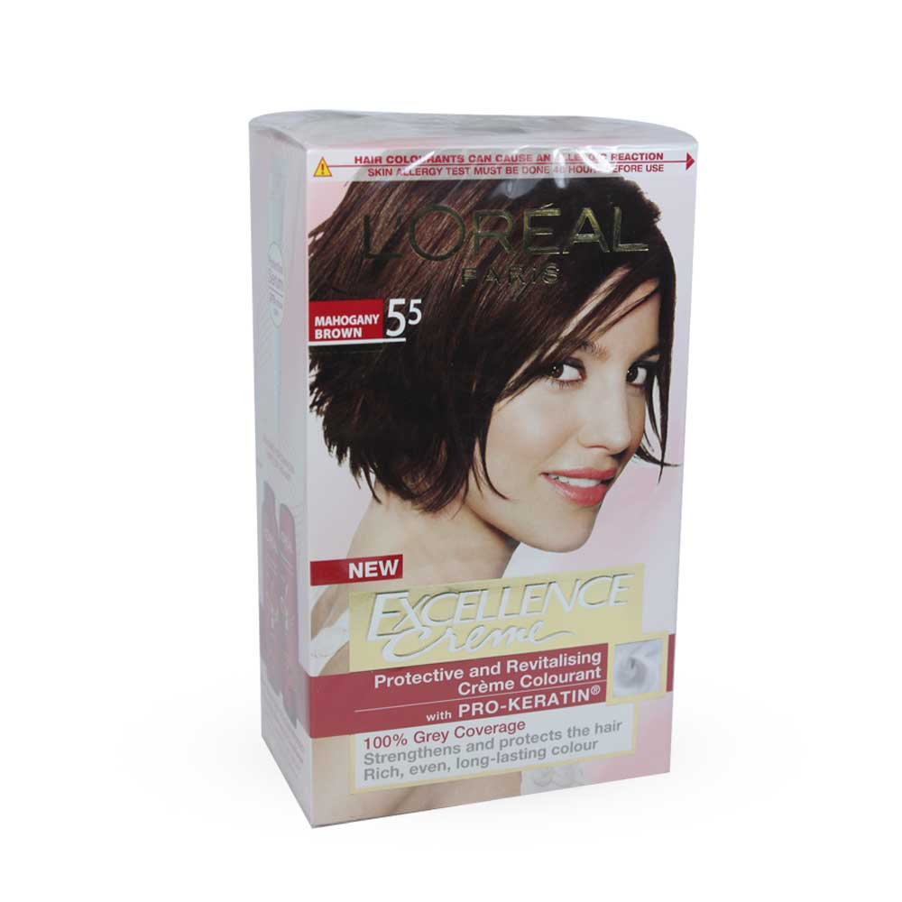 Loreal Chocolate Brown Hair Colour  Dark Brown Hairs