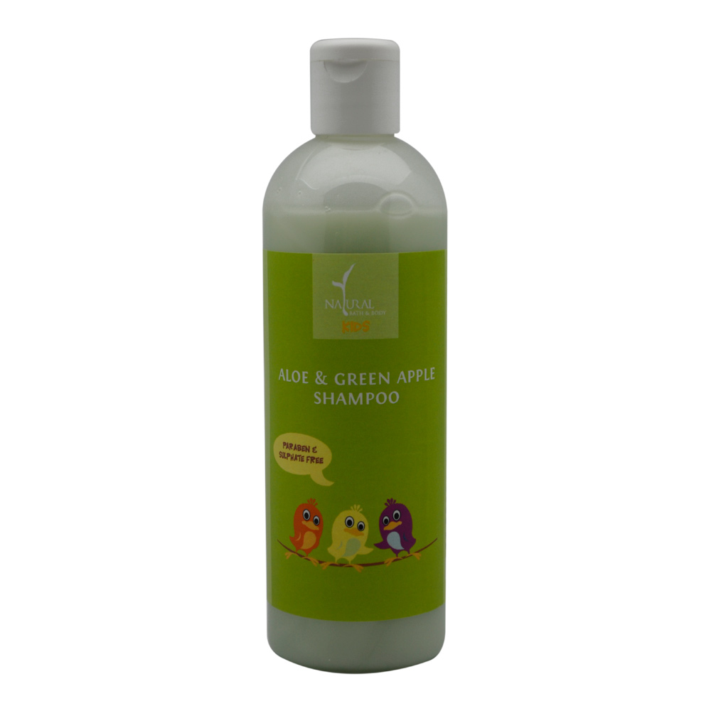 Natural Bath And Body Aloe & Green Apple Shampoo (For Kids) (200ml)