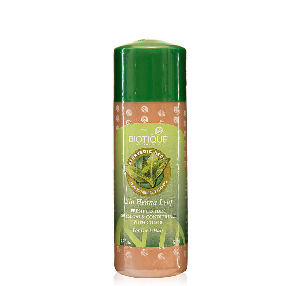 Biotique Bio Henna Leaf Fresh Texture Shampoo & Conditioner