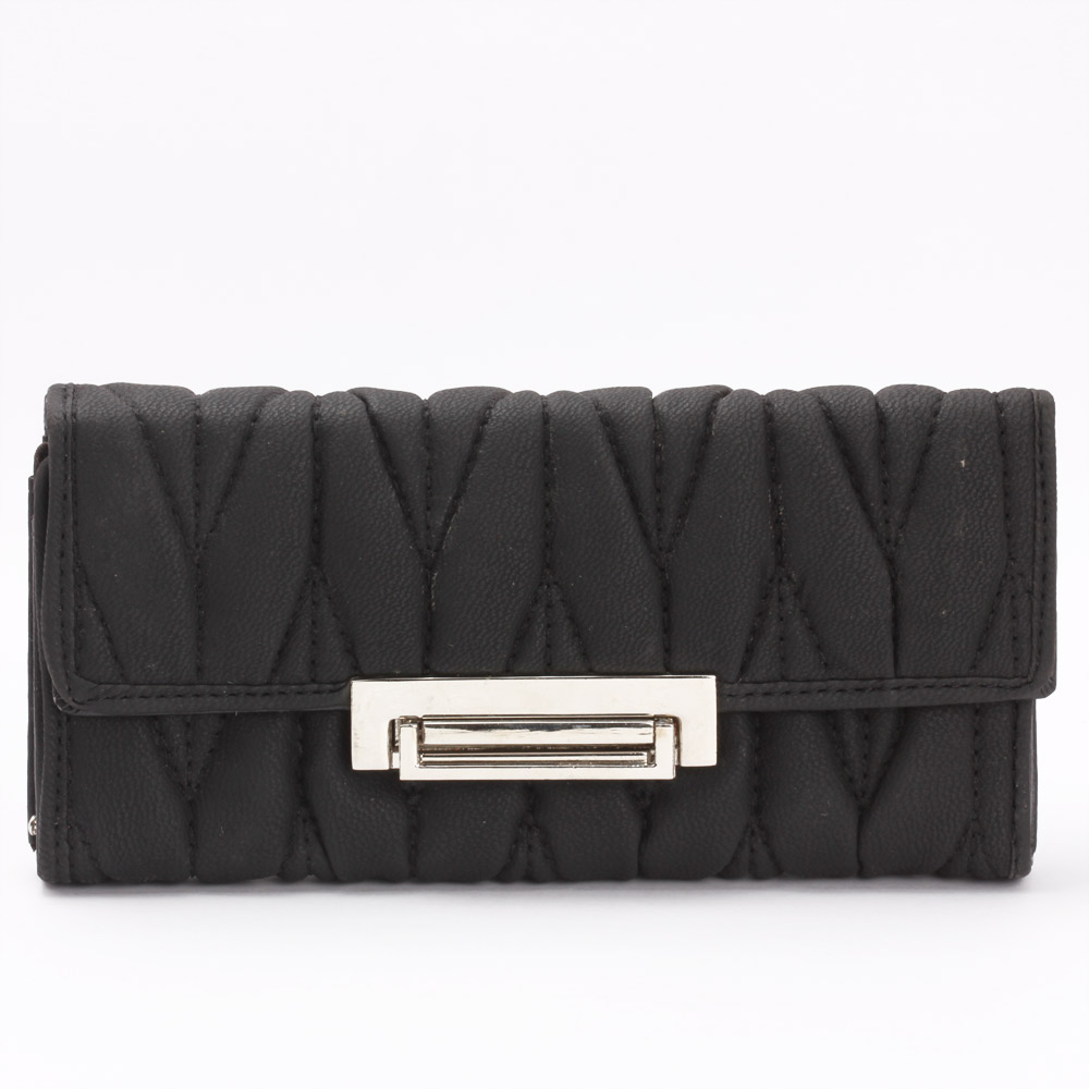 Aristocratic Leather Clutch (Black)