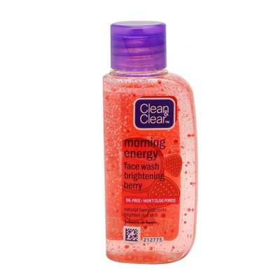 Clean & Clear Morning Energy Face Wash Brightening Berry (50ml)