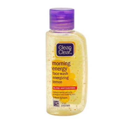 Clean & Clear Morning Energy Face Wash Energizing Lemon