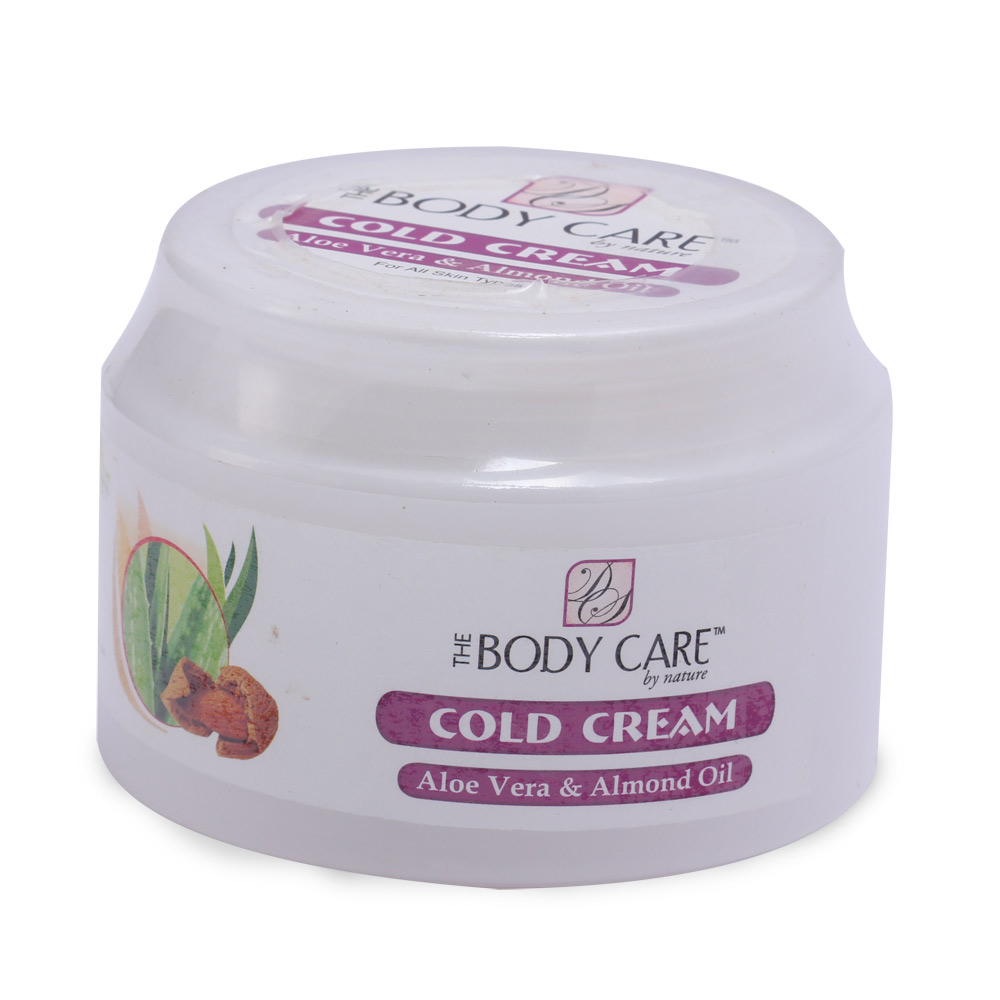 The Body Care Aloe Vera & Almond Cold Cream (400 gm) (Eco Pack)
