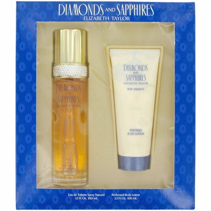 Elizabeth Taylor Diamonds and Sapphires Gift Set for Women