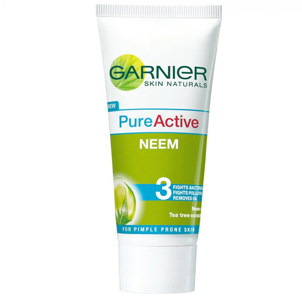 Garnier Pure Active Neem Face Wash (100 gms)