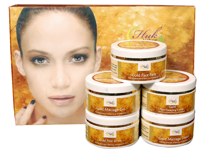 HUK Natural Gold Facial Kit (250 gm)