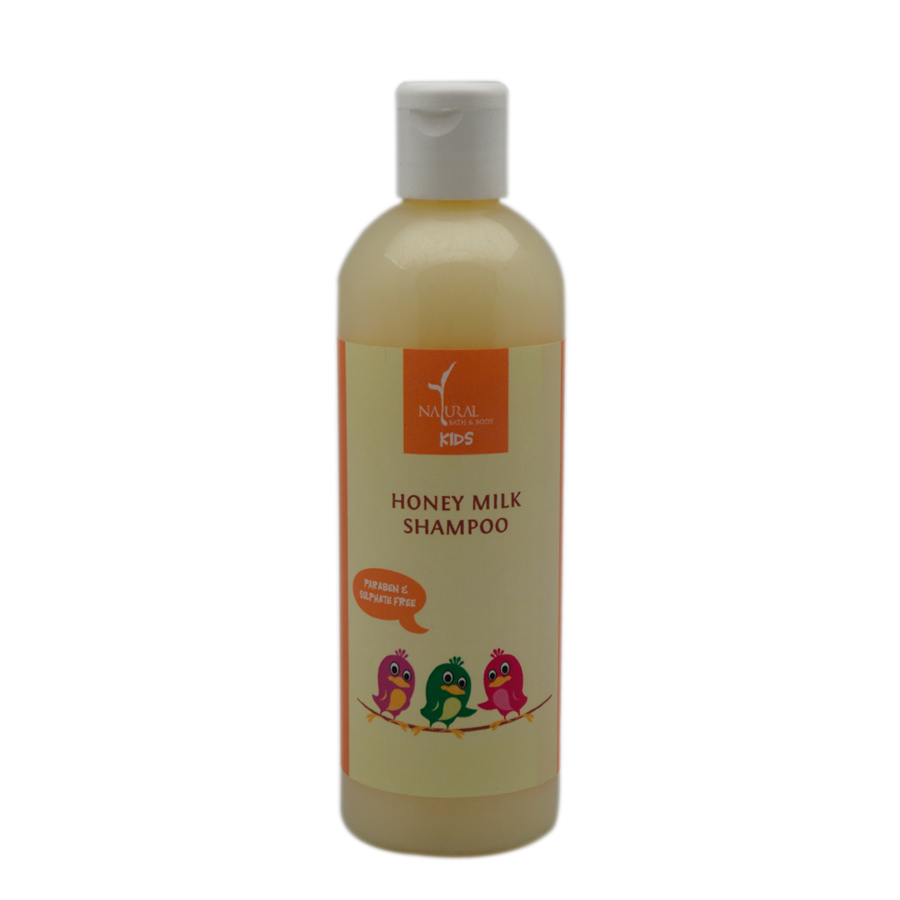 Natural Bath And Body Honey Milk Shampoo (for kids)