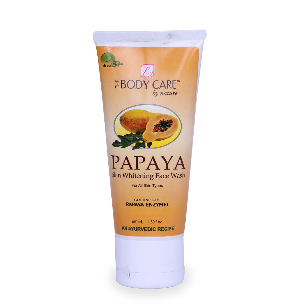 The Body Care Papaya Skin Whitening Face Wash
