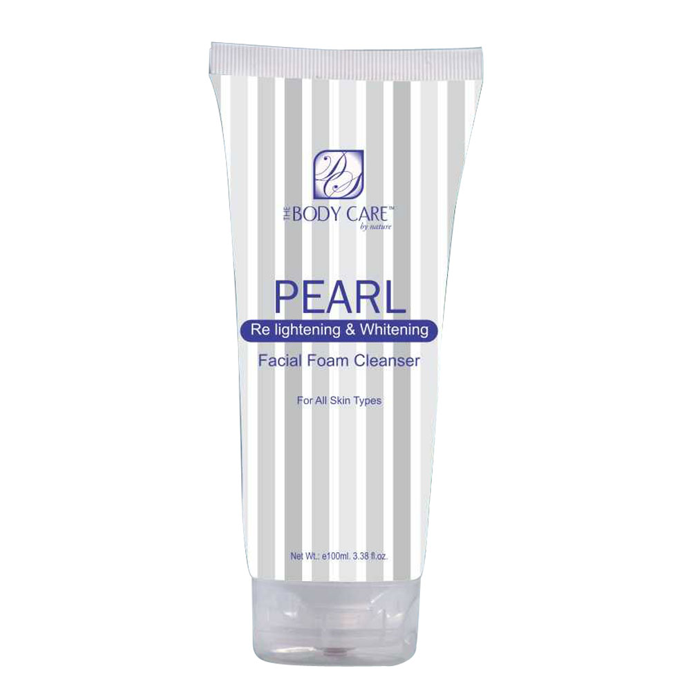 The Body Care Pearl Skin Whitening Face Wash (100 ml)