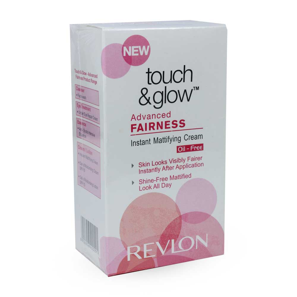 Revlon Touch & Glow Advanced Fairness Instant Mattifying Cream
