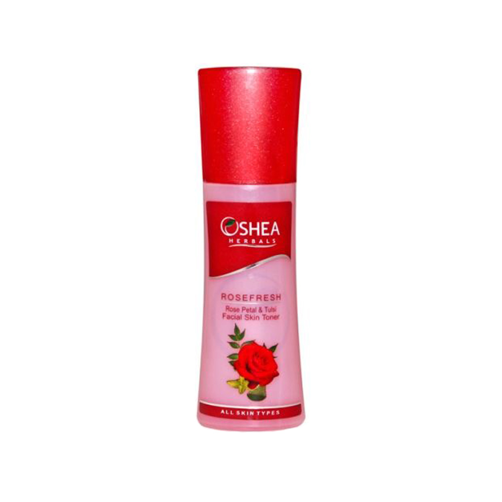 Oshea Herbals Rosefresh Rose Petal & Tulsi Facial Skin Toner (120 ml)