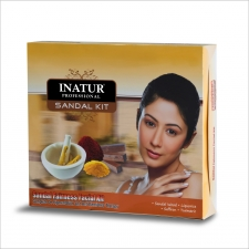Inatur Herbals Sandal Fairness Facial Kit - 85gm