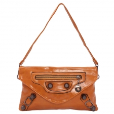 KH Gracious Contemporary Yellowish-Brown Sling Bag Online Shopping