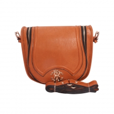 Gorgeous Craftsy Typical Sling Bag-Brown(Khoobsurati) Online Shopping
