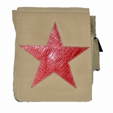 Leo Skin Color Sling Bag with an Imprinted Star