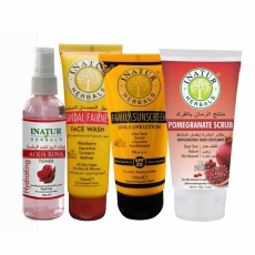 Inatur Herbals Skincare Combo (Summer Essentials for all Skin Types)