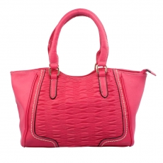 KH Trendy Pink Colored Handbag For Ladies