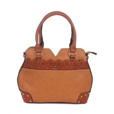 KH Stunning Brown Ladies Handbag