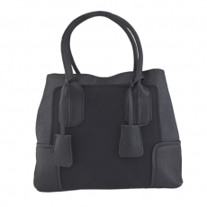 KH Posh Black Ladies Handbag